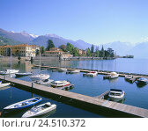 Купить «Italy, Lombardy, Lake Como, Dongo, local view, harbour, Europe, Northern Italy, mountain landscape, mountains, mountains, Lago Tu Como, prealpine lake...», фото № 24510372, снято 24 октября 2005 г. (c) mauritius images / Фотобанк Лори