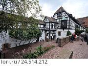 Купить «Wartburg, Eisenach, Thuringia, Germany,», фото № 24514212, снято 2 февраля 2010 г. (c) mauritius images / Фотобанк Лори