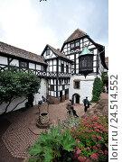 Купить «Wartburg, Eisenach, Thuringia, Germany,», фото № 24514552, снято 2 февраля 2010 г. (c) mauritius images / Фотобанк Лори