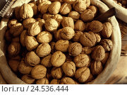 Купить «Wood bowl, walnuts,    Wood peel, bowl, wooden, nutshell, food, nuts, stone fruits, seeds, kernels, stone kernels, Welsche nut, Juglans regia, Walnusskerne...», фото № 24536444, снято 15 августа 2018 г. (c) mauritius images / Фотобанк Лори