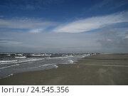 Купить «Germany, Schleswig - Holstein, St. Peter Ording, beach, coast, width, scenery», фото № 24545356, снято 6 октября 2009 г. (c) mauritius images / Фотобанк Лори