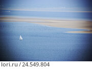 Купить «Sailboats, Sand benches, the Atlantic,», фото № 24549804, снято 28 мая 2008 г. (c) mauritius images / Фотобанк Лори