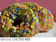 Купить «Doughnuts, sugar panels, brightly, cakes and pastries, cake, fungus cake, cake corpuscle, three, candy, sweets, sweetly, nibble, icing, sugar, panel, decoration, background, pink ones,», фото № 24550480, снято 9 июня 2008 г. (c) mauritius images / Фотобанк Лори