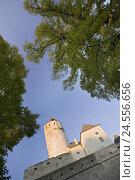 Купить «Austria, Burgenland, Forchtenstein Castle,», фото № 24556656, снято 25 сентября 2018 г. (c) mauritius images / Фотобанк Лори