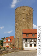 Купить «Germany, Baden-Wurttemberg, home Besig, French horn tower, city fortification, Middle Ages, tower, round tower, place of interest, tourism, building, houses, nobody,», фото № 24562308, снято 6 декабря 2010 г. (c) mauritius images / Фотобанк Лори