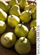 Купить «Pears, ripe, eatable,», фото № 24568516, снято 18 июня 2018 г. (c) mauritius images / Фотобанк Лори