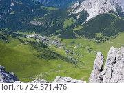 Купить «Principality Liechtenstein, Malbun, local view, valley,», фото № 24571476, снято 2 сентября 2008 г. (c) mauritius images / Фотобанк Лори