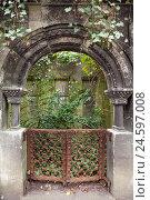 Купить «Jewish cemetery, Berlin-Weißensee,», фото № 24597008, снято 21 августа 2018 г. (c) mauritius images / Фотобанк Лори