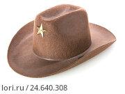 Шляпа для ковбоя. Стоковое фото, фотограф Харкин Вячеслав / Фотобанк Лори