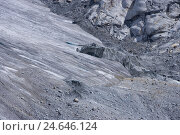 Купить «Switzerland, Valais, Cerium-weakly, foundling's glacier, glacier fading,», фото № 24646124, снято 28 октября 2008 г. (c) mauritius images / Фотобанк Лори