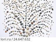 Купить «Pebbles, arranged as a fountain,», фото № 24647632, снято 20 июля 2018 г. (c) mauritius images / Фотобанк Лори