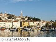 Купить «Croatia, island Losinj, Mali Losinj, town view,», фото № 24655216, снято 15 сентября 2011 г. (c) mauritius images / Фотобанк Лори