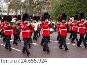 Купить «Great Britain, London, Buckingham Palace, awake change, Changing the Guards,», фото № 24655924, снято 15 августа 2018 г. (c) mauritius images / Фотобанк Лори