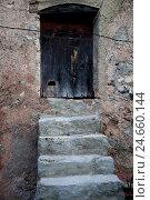 Купить «old house in the mountain village Farena, province Tarragona, Catalonia, Spain,», фото № 24660144, снято 17 марта 2018 г. (c) mauritius images / Фотобанк Лори