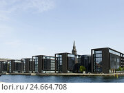 Купить «Modern architecture in the district Christianshavn, Copenhagen, Denmark, Scandinavia,», фото № 24664708, снято 15 августа 2018 г. (c) mauritius images / Фотобанк Лори