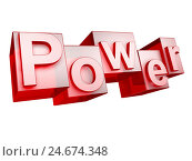 Купить «Power, red, white background, word, letter, 3-D, technology, effect, character font, idea, conception, nobody, Frei's plate, tip, sign,», фото № 24674348, снято 17 июля 2018 г. (c) mauritius images / Фотобанк Лори