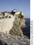 Купить «Europe, Croatia, Dalmatia, Adriatic, the Mediterranean Sea, Dubrovnik, city wall,», фото № 24676872, снято 21 августа 2018 г. (c) mauritius images / Фотобанк Лори