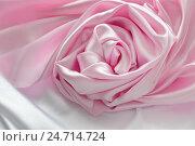 Розовый шелк. Стоковое фото, фотограф Юлия Дьякова / Фотобанк Лори