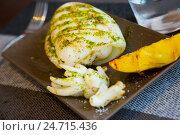 Купить «served roasted cuttlefish», фото № 24715436, снято 19 октября 2018 г. (c) Яков Филимонов / Фотобанк Лори