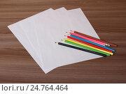 Цветные карандаши. Стоковое фото, фотограф Алексей Воробьев / Фотобанк Лори