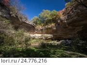 Водопад на скалах. Стоковое фото, фотограф Igor Sirbu / Фотобанк Лори