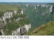 National Park of Aparados da Serra Rio Grande do Sul - Brazil. Стоковое фото, фотограф Marco Antonio Sá / age Fotostock / Фотобанк Лори