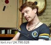 Купить «Павел Майков», фото № 24790028, снято 11 августа 2014 г. (c) Free Wind / Фотобанк Лори