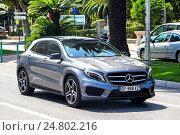 Купить «Mercedes-Benz X156 GLA-class», фото № 24802216, снято 2 августа 2014 г. (c) Art Konovalov / Фотобанк Лори