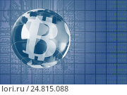 Купить «The concept of e-commerce growth rate. Cryptocurrency Bitcoin.», фото № 24815088, снято 5 января 2017 г. (c) Александр Якимов / Фотобанк Лори