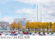 Купить «Город Белфаст, Северная Ирландия», фото № 24822928, снято 29 октября 2016 г. (c) Ольга Марк / Фотобанк Лори