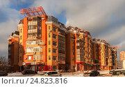 Современное жилое здание (2016 год). Стоковое фото, фотограф Светлана Булычева / Фотобанк Лори