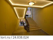 Купить «Лестинцы и переходы с этажа на этаж в ГУМе в Москве», эксклюзивное фото № 24838024, снято 8 января 2017 г. (c) lana1501 / Фотобанк Лори