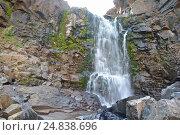 Водопад на плато Путорана (2015 год). Редакционное фото, фотограф Сергей Дрозд / Фотобанк Лори