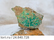 Купить «Фосфорит. Медная руда.», фото № 24840728, снято 22 октября 2016 г. (c) Юлия Врублевская / Фотобанк Лори