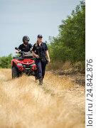 Купить «Tudora, Republic of Moldova, Border police Politia de Frontiera at the green border», фото № 24842876, снято 30 августа 2016 г. (c) Caro Photoagency / Фотобанк Лори