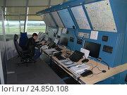 Купить «Диспетчер ВДПП», фото № 24850108, снято 3 сентября 2013 г. (c) Air Nemo / Фотобанк Лори