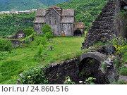 Akhtala  Armenian Apostolic Church monastery (2013 год). Стоковое фото, фотограф Евгений Суворов / Фотобанк Лори