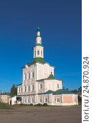 Рождественская церковь в городе Тотьма Вологодской области, фото № 24870924, снято 10 августа 2016 г. (c) Николай Мухорин / Фотобанк Лори