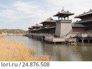 Гроты Юньган (Yungang) у города Датун, Китай (2015 год). Стоковое фото, фотограф Vladislav Osipov / Фотобанк Лори