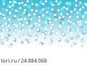 Купить «Абстрактный праздничный фон с эффектом боке», иллюстрация № 24884068 (c) Евгений Ткачёв / Фотобанк Лори
