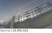 Типичный тюремный пейзаж. Исправительная система Россия УФСИН. Колония особо -строгого режима. Стоковое фото, фотограф Mikhail Erguine / Фотобанк Лори