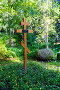 Крест на могиле И.Е. Репина. Усадьба Пенаты. Репино, эксклюзивное фото № 24921168, снято 9 июля 2016 г. (c) Александр Щепин / Фотобанк Лори