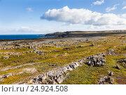Побережье Баренцева моря, полуостров Рыбачий в Мурманской области. Стоковое фото, фотограф Andrey Volodin / Фотобанк Лори