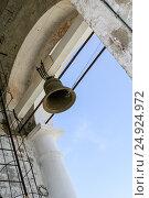 Bell of the Venerable bell tower,  Russia, Suzdal (2014 год). Стоковое фото, фотограф Денис Фоломеев / Фотобанк Лори