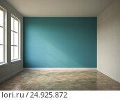 Купить «Interior empty room 3D rendering», иллюстрация № 24925872 (c) Hemul / Фотобанк Лори