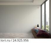 Interior modern design room 3D illustration, иллюстрация № 24925956 (c) Hemul / Фотобанк Лори