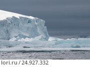 Купить «Antarctica view form the ship», фото № 24927332, снято 13 декабря 2016 г. (c) Vladimir / Фотобанк Лори