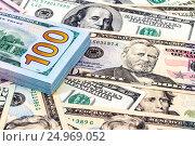 Купить «Пачка банкнот крупным планом», фото № 24969052, снято 13 июля 2020 г. (c) FotograFF / Фотобанк Лори