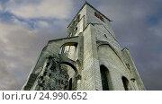 Купить «Basilica of Saint-Martin, Tours, France», видеоролик № 24990652, снято 28 января 2017 г. (c) Владимир Журавлев / Фотобанк Лори