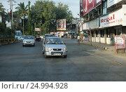 На улицах Пуны. Индия (2013 год). Редакционное фото, фотограф Юрий Леденцов / Фотобанк Лори